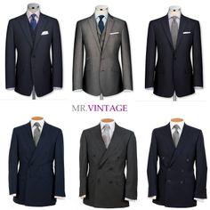 Zwykły garnitur na niezwykłą okazję   Mr Vintage - rzeczowo o modzie męskiej