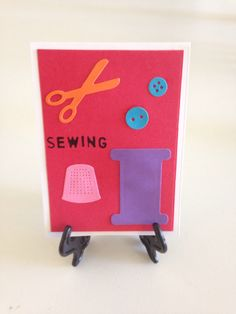 A sewing card!