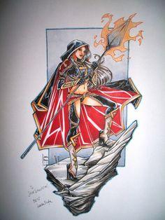 Laura Braga - The Magdalena Comic Art