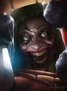 Martha Wayne/ Flashpoint Joker by JeeHyung lee : batman