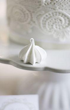 Pretty meringue #BaptismDesserts