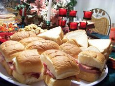 Christmas Party Food.