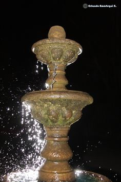 Fountain, Outdoor Decor, Home Decor, Decoration Home, Room Decor, Water Fountains, Interior Design, Home Interiors, Interior Decorating