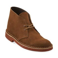 Desert Boot-Men in Tobacco Suede/Brick Crepe - Mens Boots from Clarks
