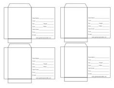 Blank Seed Packet -- a PDF that you can type information into.
