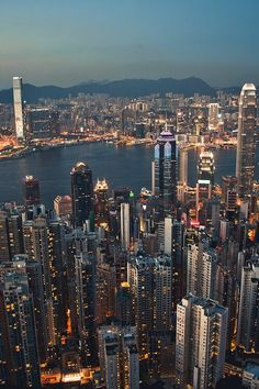 Hong Kong skyline - Was an incredible experience looking down upon huge skyscrapers from up in the surrounding hills. Hong Kong, Beautiful World, Beautiful Places, Places To Travel, Places To Visit, Cities, Night City, China Travel, City Photography