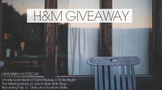 H&M Giveaway Oct