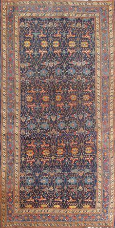 "Persian Bidjar rug, 13'2""X25'8"", 1880, Keivan Woven Arts Gallery"