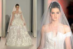 Semana de Alta-Costura Paris | Vestidos de Noiva - Abed Mahfouz