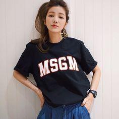 覺得很多牌子的男版T-shirt都很好看❤️#lurehsu #許路兒 #MSGM #kennethjaylane