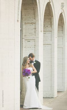 Foundation for the Carolinas Wedding: Lauren + Patrick » come+together events.  Front facade of the building