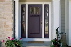 Bold, bright entry #doors a hot #home trend for 2014. Love it or leave it?