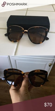 Mvmt cat eye sunglasses Super cute just too big for my fave! Worn 2-3 times, in great shape. Come with case and wipe! Accessories Sunglasses