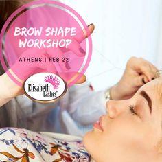 🔝Σεμινάριο για σχηματισμό και βαφή φρυδιών και βαφή βλεφαρίδας από το Elisabeth Lashes Extensions Βλεφαρίδων! Brow Shaping, Lash Extensions, Athens, Brows, Workshop, Children, False Eyelashes, Eyebrows, Young Children