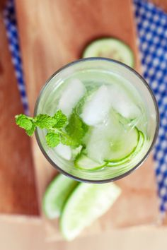 Can You Drink Your Way Into Balance?  Lemon Mint Cucumber Recipe (Click Here)
