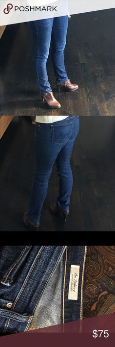 """AG jeans """"The Aubrey"""" AG jeans in the skinny straight style """"the Aubrey"""" AG Adriano Goldschmied Jeans Straight Leg"""