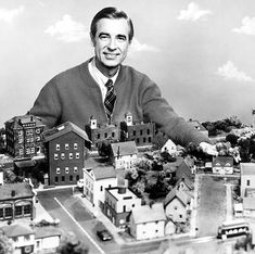 Mr. Rodgers and his neighborhood