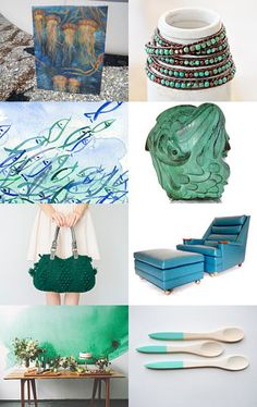 Monday's Fabulous Treasures by Violeta Warner on Etsy--Pinned with TreasuryPin.com