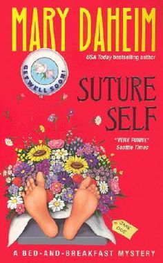 Suture Self (Bed-and-Breakfast Mysteries #17)  by Mary Daheim. Click on the green Libraries button to find this in a library near you!