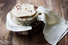 Coconut Roti (Shredded Coconut) | Global Table Adventure