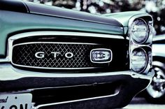 Tell me the stacked headlight GTO wasn't the best. And 1965 was the first year it was its own model and not a Le Mans package.