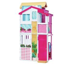 Buy Barbie 3 Story Townhouse at Argos.co.uk, visit Argos.co.uk to shop online for Dolls houses, Dolls and playsets, Toys