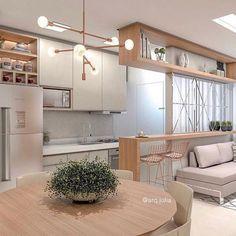 Modern home design Apartment Interior, Apartment Design, Interior Design Living Room, Living Room Designs, Living Room Decor, Condo Living, Deco Design, Modern House Design, Small Apartments