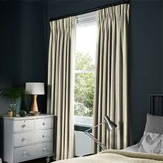 Shop Hillarys™ Made to Measure Blinds, Curtains, Shutters & Awnings! Book a FREE In-Home Design Appointment & Order Samples Today! Teal Curtains, Curtains With Blinds, House Blinds, Blinds For Windows, Bay Window Treatments, Made To Measure Blinds, Beige Living Rooms, Soft Furnishings, New Homes