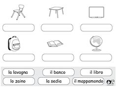 Learning Italian Like Children Spanish Worksheets, School Worksheets, Worksheets For Kids, Italian Lessons, French Lessons, Spanish Lessons, French Teacher, Teaching French, Teaching Spanish