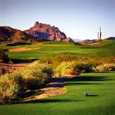 Las Sendas Golf Course. Mesa, AZ