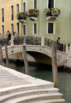 """The most beautiful """"streets"""" and bridges on the world you can find only in Venice. Rio della Salute"""