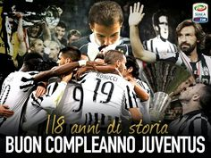 Juventus 118 anni di gloria