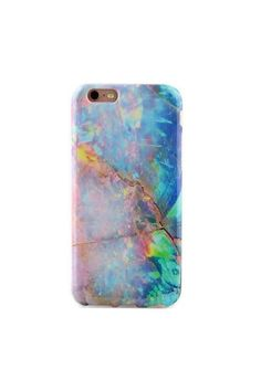 Protective blue opal marble phone case (printed not iridescent) for an elegant look. The unicorn charger will be shown as an option after you add this case to your cart. Fits the iphone6 full Full Protection:Comes with full 360 degree bumper protection with access to all ports as well as a front raised lip to protect your phone screen. hight quality High Quality:Made with the best TPU material resulting in a soft durable and flexible finish for your phone. full Custom Design:A one of a kind…