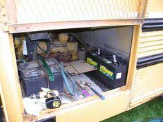 School Bus Conversion electrical ideas