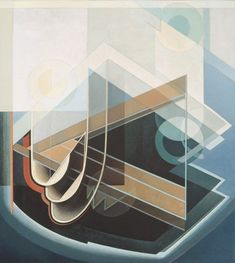 Lawren Harris. Abstract No.7. 1939.  (The evolution of art.  Do you see the music element . . .)