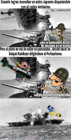 Kamikazes Japoneses