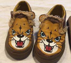 New Toddler Vans Slip-on Lion size 9  | eBay