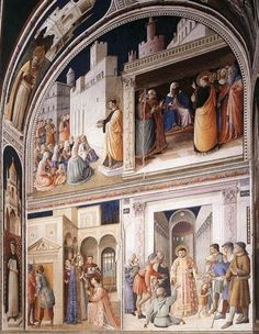 Fra Angelico, Niccoline Chapel, Vatican City, 1447