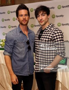 Fotografia de notícias : Actors Tom Riley and Blake Ritson attend the HBO...