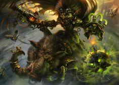 Goblin toxic bomber by IvanLaliashvili.deviantart.com on @DeviantArt