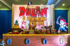 Dylan's Jake and the Never Land Pirates-Themed Party – Dessert Spread
