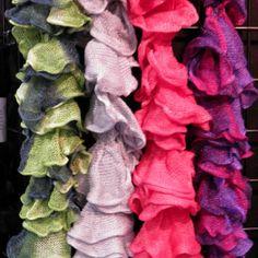 Rozetti Yarn Scarves