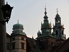 Up there... - Royal Archcathedral Basilica of Saints Stanislaus and Wenceslaus on the Wawel Hill, Krakow