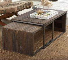 lathe nesting coffee tables
