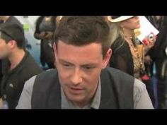 Cory Monteith - Do Something Award 2012 - interview On The Red Carpet