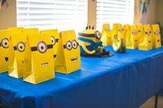 Zion's First Minions Party | CatchMyParty.com