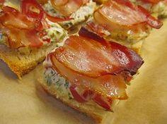 Bacon - Tomaten - Frischkäse Häppchen 1