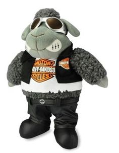 Harley-Davidson® Stuffed Animal Road Sheep. 20144LK