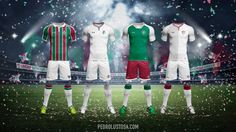 59634ebe525c5 Designer tricolor faz mockups de uniformes do Fluminense para a Under  Armour