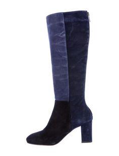 Aquatalia Colorblock Boots ~ WIsh the heels were a little shorter!